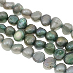 Baroque Cultured Freshwater Pearl Beads, mixed colors, 4-5mm, Hole:Approx 0.8mm, Length:14.5 Inch, 10Strands/Bag, Sold By Bag