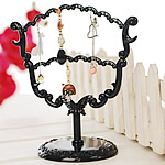 Plastic Earring Display, PVC Plastic, black, 164x175mm, 10PCs/Lot, Sold By Lot