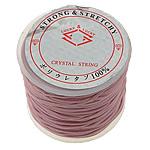 Nici elastyczne, Elastyczny sznur, ze Szpulka plastikowa, różowy, 1.30mm, długość:25 m, 20komputery/wiele, sprzedane przez wiele