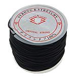Nici elastyczne, Elastyczny sznur, ze Szpulka plastikowa, czarny, 1.30mm, długość:25 m, 20komputery/wiele, sprzedane przez wiele