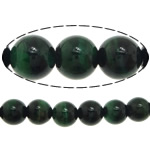 Natural Tiger Eye Beads, Round, green, 6mm, Hole:Approx 0.8mm, Length:Approx 15 Inch, 5Strands/Lot, Approx 60PCs/Strand, Sold By Lot