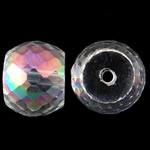 Imitatie CRYSTALLIZED™ kristal kralen, Drum, kleurrijke vergulde, imitatie CRYSTALLIZED™ kristallen, 12x9mm, Gat:Ca 1.5mm, 10pC's/Bag, Verkocht door Bag