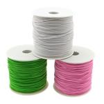 Nici elastyczne, Elastyczny sznur, importowany z Korei, mieszane kolory, 1mm, długość:700 m, 10komputery/wiele, 70m/PC, sprzedane przez wiele