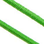 Elastic Thread, with plastic spool, South Korea Imported, green, 1mm, Length:700 m, 10PCs/Lot, 70m/PC, Sold By Lot