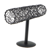 Iron Bracelet Display stoving varnish black nickel lead   cadmium free 230x160x230mm 10PCs/Lot