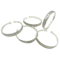 Zinc Alloy Cuff Bangle, antique silver color plated, mixed, nickel, lead & cadmium free, 12mm, Inner Diameter:Approx 63x59mm, Length:Approx 7 Inch, 50PCs/Lot, Sold By Lot