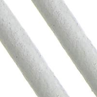 Sznurek skóra bydlęca, Sznur z krowiej skóry, biały, bez zawartości niklu, ołowiu i kadmu, 2mm, długość:około 100 m, sprzedane przez PC