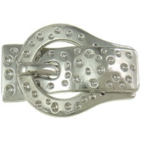 Zinc Alloy Magnetic Clasp, platinum color plated, nickel, lead & cadmium free, 45x30x8.50mm, Hole:Approx 14.5x2mm, 20PCs/Bag, Sold By Bag