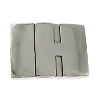 Stainless Steel Magnetic Clasp, Rectangle, original color, 24x15x8mm, Hole:Approx 12x5mm, 10PCs/Lot, Sold By Lot