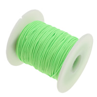 Nylon Cord fluorescent green 1mm Length:Approx 50 Yard