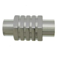 Stainless Steel Magnetic Clasp, 304 Stainless Steel, original color, 20x9.50x9mm, Hole:Approx 5mm, 50PCs/Lot, Sold By Lot