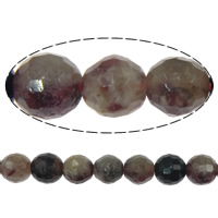 Tourmaline Beads, Round, October Birthstone, 7mm, Hole:Approx 1mm, Length:15.5 Inch, 5Strands/Lot, Sold By Lot