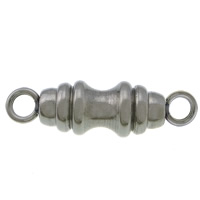 Stainless Steel Connector, 304 Stainless Steel, 1/1 loop, original color, 26x8x6mm, Hole:Approx 3mm, 100PCs/Lot, Sold By Lot