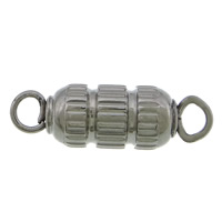 Stainless Steel Connector, 304 Stainless Steel, 1/1 loop, original color, 18.50x6mm, Hole:Approx 3mm, 100PCs/Lot, Sold By Lot