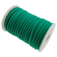 Elastic Thread, Nylon, green, 4mm, Length:Approx 20 m, Sold By PC