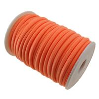 Nici elastyczne, Nylon, czerwonawopomarańczowy, 4mm, długość:około 20 m, sprzedane przez PC
