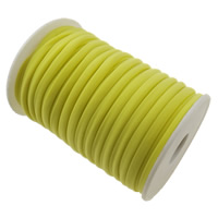 Elastic Thread, Nylon, yellow, 4mm, Length:Approx 20 m, Sold By PC