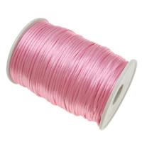 Nylon Cord, light pink, 2mm, Length:Approx 1000 Yard, 10PCs/Lot, 100Yard/PC, Sold By Lot