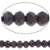 Imitation CRYSTALLIZED™ Element Crystal Beads, Rondelle, faceted & imitation CRYSTALLIZED™ crystal, Dark Violet, 8x6mm, Hole:Approx 1mm, Length:Approx 17.7 Inch, 10Strands/Bag, Approx 70PCs/Strand, Sold By Bag