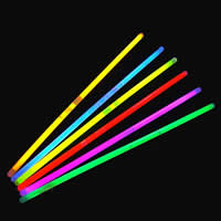 пластик Светящаяся Палочка, разноцветный, 5x200mm, 5Сумки/Лот, 100ПК/сумка, продается Лот