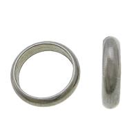 Roestvrij staal ring connectors, RVS 303, Donut, oorspronkelijke kleur, 10x2.50x1mm, Gat:Ca 8mm, 500pC's/Lot, Verkocht door Lot