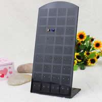 Plastic Earring Display, black, 90x175mm, 50PCs/Lot, Sold By Lot