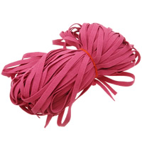 Velveteen Cord Wool lotus red 10mm Length:150 m 150PCs/Lot 1m/PC