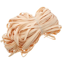 Velveteen Cord, Wool, apricot, 10mm, Length:150 m, 150PCs/Lot, 1m/PC, Sold By Lot