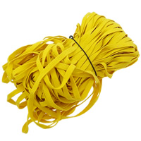 Velveteen Cord, Wool, yellow, 10mm, Length:150 m, 150PCs/Lot, 1m/PC, Sold By Lot