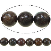 Natural Labradorite Beads, Round, 12mm, Hole:Approx 1.5mm, Length:Approx 16 Inch, 10Strands/Lot, Approx 33PCs/Strand, Sold By Lot