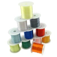 Nici elastyczne, Elastyczny sznur, ze Szpulka plastikowa, mieszane kolory, 35x45mm, 0.45mm, 25komputery/wiele, 10m/PC, sprzedane przez wiele