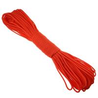 Paracord, 330 Paracord, for survival bracelet, reddish orange, 4mm, Length:Approx 310 m, 10PCs/Lot, Sold By Lot