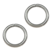 Stainless Steel Open Ring, 304 Stainless Steel, Donut, original color, 6x0.90mm, 10000PCs/Lot, Sold By Lot