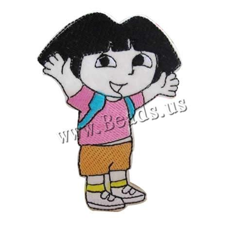 Buy Iron Patches Cloth Girl 61x88mm 3 Sold Lot