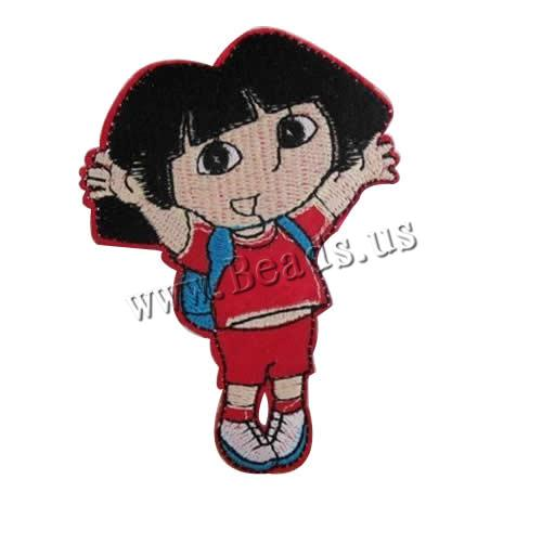 Buy Iron Patches Cloth Girl 61x89mm 3 Sold Lot