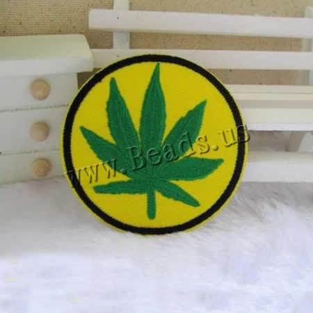 Buy Sewing-on Patch Cloth Flat Round 67x67mm 3 Sold Lot