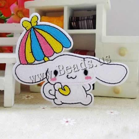 Buy Iron Patches Cloth Rabbit 90x75mm 3 Sold Lot