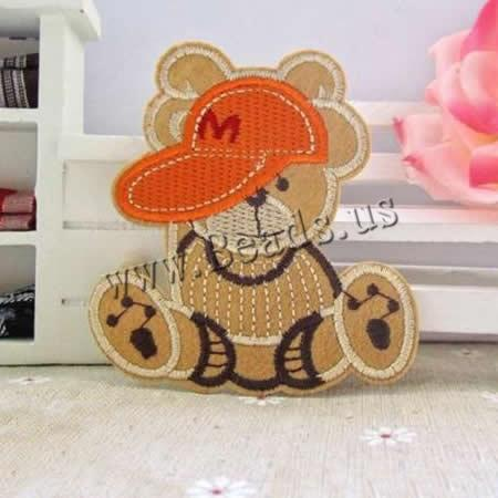Buy Iron Patches Cloth Bear 70x75mm 3 Sold Lot