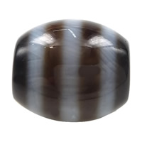 Natural Tibetan Agate Dzi Beads, Oval, stripe & more sizes for choice & two tone, Hole:Approx 2mm, 5PCs/Lot, Sold By Lot