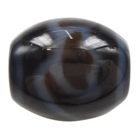 Natural Tibetan Agate Dzi Beads, Oval, lotus & more sizes for choice & two tone, Hole:Approx 2mm, 5PCs/Lot, Sold By Lot