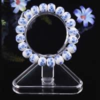 PC Plastic Bracelet Display, clear, 55x12x85mm,80mm, 100PCs/Lot, Sold By Lot