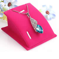 Velveteen Pendant Display, Cardboard, with Velveteen, more colors for choice, 63mm,75mm,40mm, 10PCs/Lot, Sold By Lot