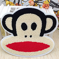 Iron on Patches, Cloth, with Velveteen, Monkey, 180x160mm, 50PCs/Lot, Sold By Lot