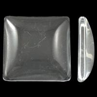 Стразы клеевые, Кристаллы, Квадратная форма, разный размер для выбора & плоской задней панелью, кристальный, 100ПК/сумка, продается сумка