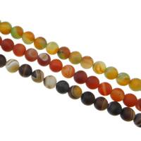 الطبيعية الخرز العقيق الرباط, الدانتيل العقيق, جولة, أكثر الأحجام للاختيار, المزيد من الألوان للاختيار, حفرة:تقريبا 1-2mm, طول:تقريبا 15.5 بوصة, تباع بواسطة حقيبة
