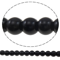 Glass Pearl Beads, Round, imitation pearl, more colors for choice, 8mm, Hole:Approx 1mm, Length:Approx 40 Inch, 10Strands/Bag, Sold By Bag