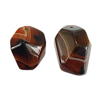Miracle Agate Pendant, Nuggets, 29-31x39-50x22-24mm, Hole:Approx 2.5mm, 5PCs/Lot, Sold By Lot