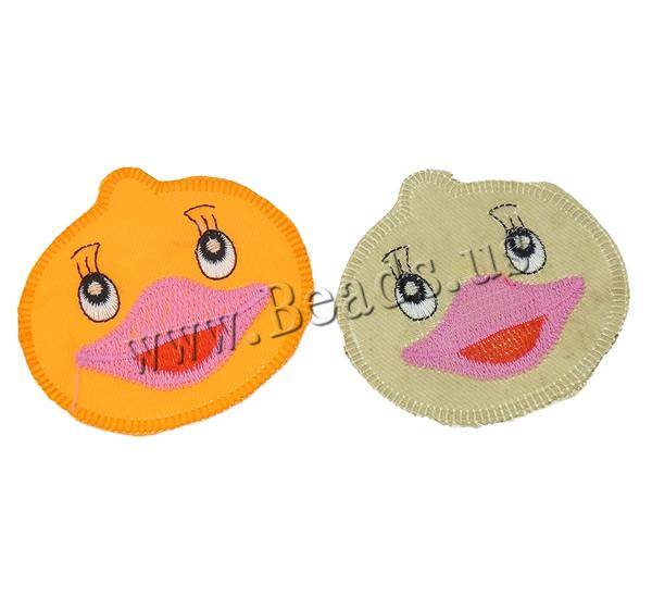 Buy Sewing-on Patch Cloth Duck mixed colors 82x78x1mm 99PCs/Bag Sold Bag