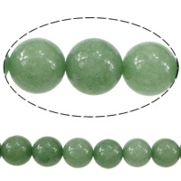 Dyed Marble Beads Round more sizes for choice green Length:Approx 15 Inch