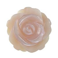 Naturalnie różowa muszla - koralik, Muszla różowa, Kwiat, Więcej rozmiarów do wyboru & połowicznie wywiercony, otwór:około 1mm, 50komputery/wiele, sprzedane przez wiele